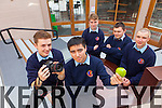 Students from Causeway Comprehensive school came third in Ireland with their video 'Gravity in a Nutshell' in the Reellife Sciences competition in NUIG. Pictured were: Matt Tyrkiel, Solas O'Halloran, Michael Leen, Ryan Carroll and Ryan Lawlor.