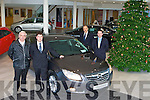 Launching the new Opel Insignia at Aherns Garage Castleisland on Saturday was l-r: John Mitchell Castleisland, Pat Ahern, JJ Murphy and Paul Ahern all Ahern's Garage, Castleisland   Copyright Kerry's Eye 2008