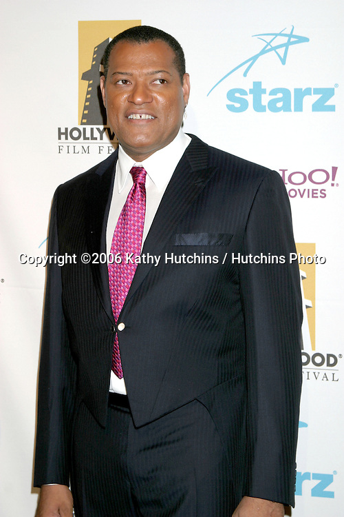 Laurence Fishburne.Hollywood Film Festival Awards.Beverly Hilton Hotel.Beverly Hills , CA.October 23, 2006.©2006 Kathy Hutchins / Hutchins Photo....