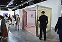 MIAMI BEACH, FL - DECEMBER 04: General view of Art Basel patrons browsing around during Art Basel Miami Beach on December 4, 2019 in Miami Beach, Florida. Art Basel represents over 250 art galleries onsite at the Miami Beach Convention Center. It is considered one of the world's largest art festivals and has art events throughout the city.  ( Photo by Johnny Louis / jlnphotography.com )