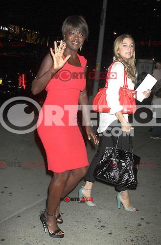 NEW YORK, NY - August 03, 2012: Viola Davis attends the screening of Won't Back Down at the NYIT Auditorium in New York City. &copy; RW/MediaPunch Inc. /NortePhto.com<br /> <br /> **SOLO*VENTA*EN*MEXICO**<br />  **CREDITO*OBLIGATORIO** *No*Venta*A*Terceros*<br /> *No*Sale*So*third* ***No*Se*Permite*Hacer Archivo***No*Sale*So*third* /NortePhoto.com<br /> <br />  **CREDITO*OBLIGATORIO** *No*Venta*A*Terceros*<br /> *No*Sale*So*third* ***No*Se*Permite*Hacer Archivo***No*Sale*So*third*