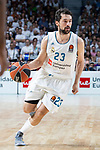 Real Madrid Sergio Llull during Turkish Airlines Euroleague Quarter Finals 3rd match between Real Madrid and Panathinaikos at Wizink Center in Madrid, Spain. April 25, 2018. (ALTERPHOTOS/Borja B.Hojas)
