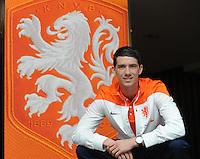VOETBAL: WOLVEGA: Pelle van Amersfoort, speler Nederlands team onder de 19 jaar, ©foto Martin de Jong