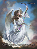 CHILDREN, KINDER, NIÑOS, paintings+++++,USLGSKPROV20,#K#, EVERYDAY ,Sandra Kock, victorian ,angels