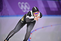 OLYMPIC GAMES: PYEONGCHANG: 16-02-2018, Gangneung Oval, Long Track, 5.000m Ladies, Misaki Oshigiri (JPN), ©photo Martin de Jong