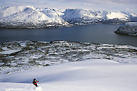 Fastdaltinden, Troms, Norway, 2005