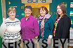 Madeline Brosnan (Kilmoyley) Orna Quirke (St Brendans Park, Tralee) Mary Wren (The Spa, Tralee) and Helena Wren (The Spa, Tralee) pictured at the Clarins evening at Ch Chemist, Tralee on Thursday last..