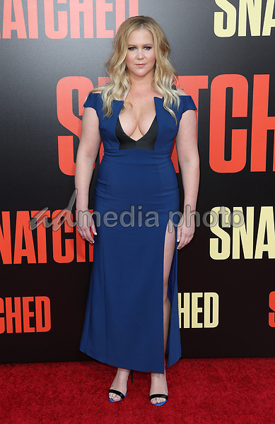 "10 May 2017 - Westwood, California - Amy Schumer. ""Snatched"" World Premiere held at the Regency Village Theatre. Photo Credit: AdMedia"
