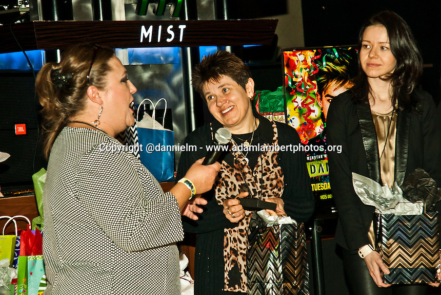 Glambert Pre Party at the Mist Winstar World Casino in Oklahoma.