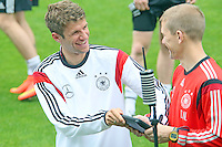 23.05.2014: Training der Nationalmannschaft