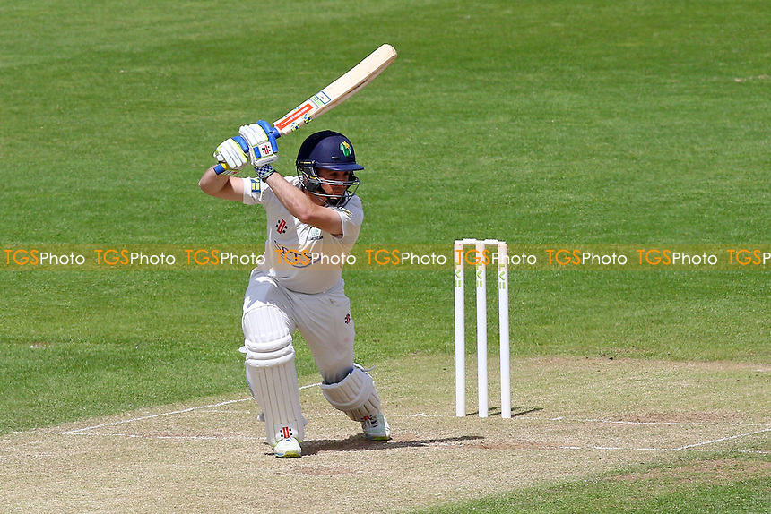 Mark Wallace hits four runs for Glamorgan - Glamorgan CCC vs Essex CCC - LV County Championship Division Two Cricket at the SWALEC Stadium, Sophia Gardens, Cardiff, Wales - 20/05/15 - MANDATORY CREDIT: TGSPHOTO - Self billing applies where appropriate - contact@tgsphoto.co.uk - NO UNPAID USE