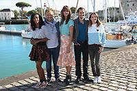 DORYLIA CALMEL, ANTOINE STIP, JULIE BOULANGER, AMBROISE MICHEL, ELODIE VARLET - 19EME FESTIVAL DE LA FICTION TV DE LA ROCHELLE, FRANCE, LE 15/09/2017.