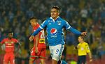 Millonarios venció como local 2-0 a Cortuluá. Fecha 17 Liga Águila I-2017.