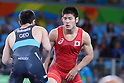 Tomohiro Inoue (JPN), <br /> AUGUST 16, 2016 - Wrestling : <br /> Men's Greco-Roman 66kg 3rd place match <br /> at Carioca Arena 2 <br /> during the Rio 2016 Olympic Games in Rio de Janeiro, Brazil. <br /> (Photo by YUTAKA/AFLO SPORT)