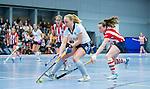 SCHIEDAM - NK reserveteams zaalhockey. Finale Tilburg D2-HDM D2 (1-3) . Eline vd Ven van Tilburg.    COPYRIGHT KOEN SUYK