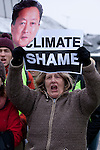 Members of the TckTckTck coalition of more then 15 million people today called climate shame on heads of state in Copenhagen. (Images free for Editorial Web usage for Fresh Air Participants during COP 15. Credit: Robert vanWaarden)
