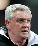 Steve Bruce manager of Newcastle United during the Premier League match at Villa Park, Birmingham. Picture date: 25th November 2019. Picture credit should read: Darren Staples/Sportimage