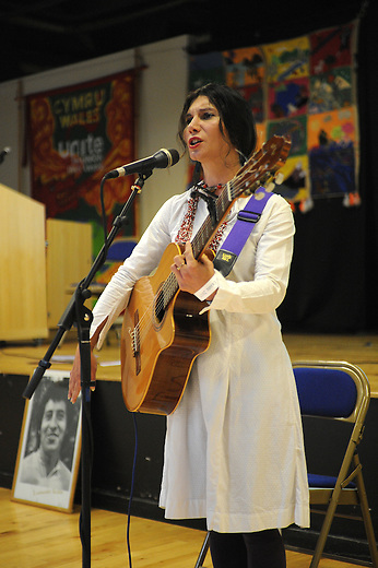 El Sueno Existe Festival<br /> Machynlleth<br /> Wales<br /> Our Future, Our Planet Our Dream<br /> Corina Piatti, Argentinian singer.