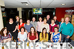 DeerPark social Club Department of Justice Killarney enjoying a nite out at the dogs at the Kingdom Greyhound stadium on Friday
