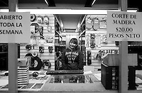 Rosa Maria Gamboa Sanchez. Hardware store owners in Tijuana, Baja California, Mexico