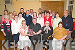 Kilcummin parishioners give Fr Tom Looney a great send-off at his farewell party in Kilcummin Parish Hall last Tuesday evening..
