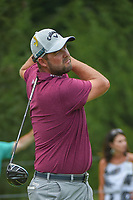 Marc Leishman (AUS) watches his tee shot on 4 during 4th round of the World Golf Championships - Bridgestone Invitational, at the Firestone Country Club, Akron, Ohio. 8/5/2018.<br /> Picture: Golffile | Ken Murray<br /> <br /> <br /> All photo usage must carry mandatory copyright credit (© Golffile | Ken Murray)