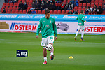 17.03.2019, BayArena, Leverkusen, GER, 1. FBL, Bayer 04 Leverkusen vs. SV Werder Bremen,<br />  <br /> DFL regulations prohibit any use of photographs as image sequences and/or quasi-video<br /> <br /> im Bild / picture shows: <br /> beim Aufwaermen, Einzelaktion,  Max Kruse (Werder Bremen #10), <br /> <br /> Foto © nordphoto / Meuter