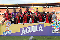 CUCUTA - COLOMBIA, 24-08-2019: Jugadores de Cúcuta posan para una foto previo al encuentro por la fecha 8 de la Liga Águila II 2019 entre Cúcuta Deportivo y La Equidad jugado en el estadio General Santander de la ciudad de Cúcuta. / Players of Cucuta pose to a photo prior the match between Cucuta Deportivo and La Equidad for the date 8 of the Liga Aguila II 2019 played at the General Santander stadium in Cucuta city. Photo: VizzorImage / Manuel Hernandez / Cont