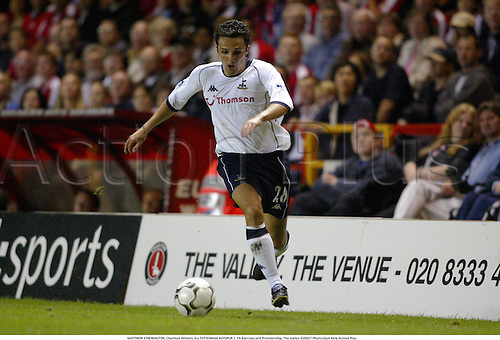 MATTHEW ETHERINGTON, Charlton Athletic 0 v TOTTENHAM HOTSPUR 1, FA Barclaycard Premiership, The Valley 020827 Photo:Glyn Kirk/Action Plus...Soccer 2002.Football