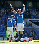 Lee McCulloch appeals to the referee