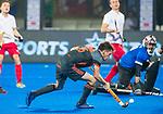 BHUBANESWAR (INDIA) - Thierry Brinkman (Ned) brengt de stand op 4-0  tijdens Nederland-Canada (5-0) bij het WK Hockey heren.  COPYRIGHT KOEN SUYK