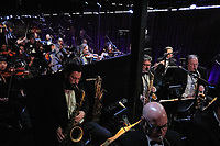 A view of Rickey Minor's All-Star Band during the live ABC telecast of the 92nd Oscars® at the Dolby® Theatre in Hollywood, CA on Sunday, February 9th, 2020.                        <br /> *Editorial Use Only*<br /> CAP/AMPAS<br /> Supplied by Capital Pictures