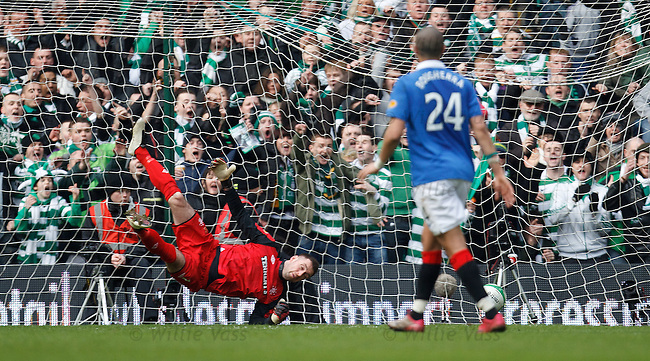 Alan McGregor wrongfooted for Kris Commons goal