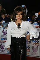 Joan Collins<br /> The Pride Of Britain Awards at Grosvenor House Hotel, on October 30, 2017 in London, England. <br /> CAP/PL<br /> &copy;Phil Loftus/Capital Pictures /MediaPunch ***NORTH AND SOUTH AMERICAS ONLY***