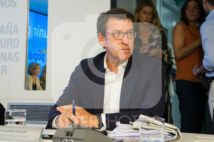 Alberto Nunez Feijoo during the General Council of Partido Popular. July 29, 2019. (ALTERPHOTOS/Francis González)