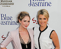 BEVERLY HILLS, CA - JULY 24: Ashley Jones and Ali Fedotowsky attend the premiere of 'Blue Jasmine' hosted by the AFI & Sony Picture Classics at the AMPAS Samuel Goldwyn Theater on July 24, 2013 in Beverly Hills, California. (Photo by Celebrity Monitor)
