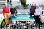 Michael Leslie, Michael Hackett, Michael Clifford and John Dineen at the Car Vintage show in Killarney on Sunday