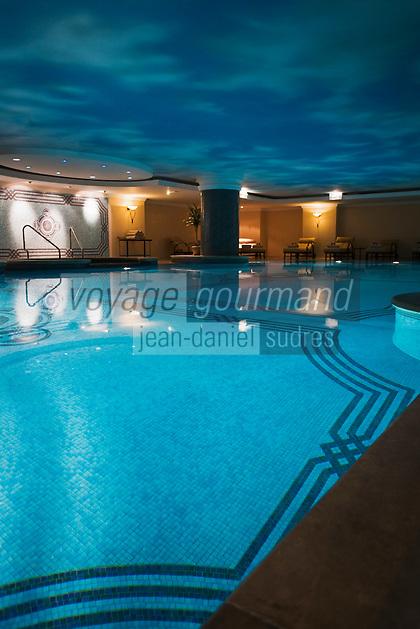 Europe/Turquie/Istanbul :  Spa de l'Hôtel Ritz Carlton