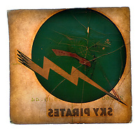 """An unused VF-85 & VBF-85 Fighting Squadron """"Sky Pirates"""" (F4U Corsairs) decal from the USS Shangri-La during WWII"""