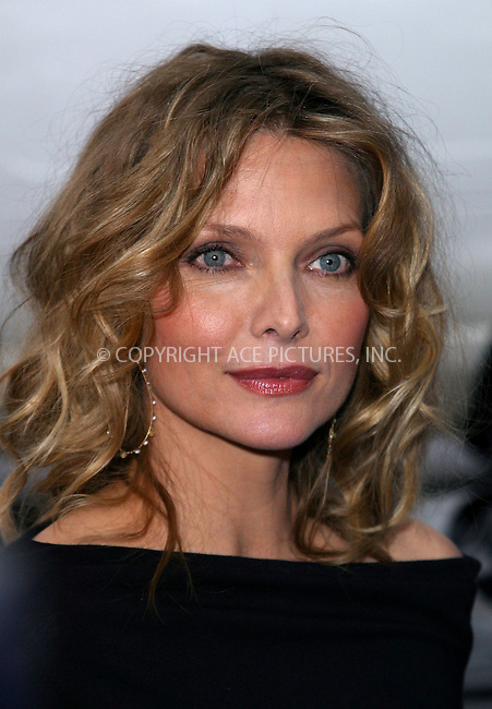 "Michelle Pfeiffer at the premiere of DreamWorks' ""Sinbad: Legend of the Seven Seas."" New York, June 17, 2003. Please byline: NY Photo Press.   ..*PAY-PER-USE*      ....NY Photo Press:  ..phone (646) 267-6913;   ..e-mail: info@nyphotopress.com"