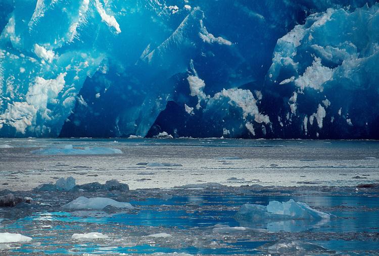 Alaska, Dawes Glacier, Endicott Arm, Stephens Passage, Southeast Alaska, tidewater Alaska.