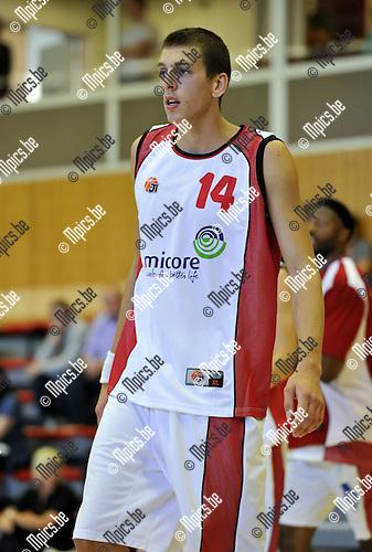 2010-08-28 / Basketbal / seizoen 2010-2011 / Red Vic / Sam Laureys..Foto: Mpics