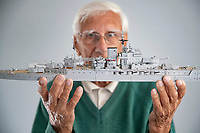 Struck out - Modeller who built a fleet of 500 warships is having to scuttle his hobby.