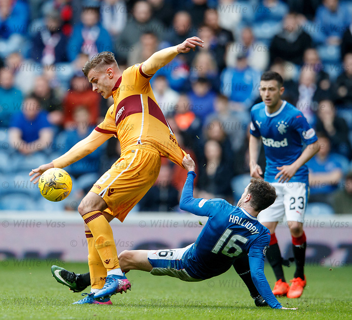 Andy Halliday and Jacob Blyth