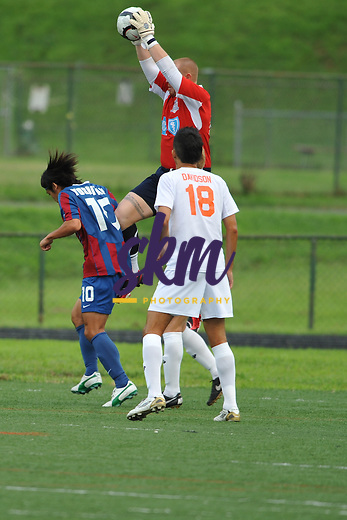 While Crystal Palace waits for the turf to be replaced at Calvert Hall, they hosted Carolina Railhawks at Baltimore Polytechnic Institute's Lumsden-Scott Stadium where Baltimore came away with a 2-1 victory.