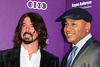 Dave Grohl, LL Cool J attending the 11th Annual Chrysalis Butterfly Ball held at a private residence in Los Angeles, California on 9.6.2012..Credit: Martin Smith/face to face /MediaPunch Inc. ***FOR USA ONLY*** NORTEPHOTO.COM