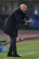 Luciano Spalletti of Internazionale reacts during the Serie A 2018/2019 football match between Empoli and Internazionale at stadio Castellani, Empoli, December, 29, 2018 <br /> Foto Andrea Staccioli / Insidefoto