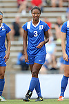 22 August 2014: Duke's Imani Dorsey. The Duke University Blue Devils played The Ohio State University Buckeyes at Fetzer Field in Chapel Hill, NC in a 2014 NCAA Division I Women's Soccer match. Ohio State won the game 1-0.