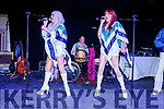 ABBA Esque on stage at the 80's Disco night in the Dome on Saturday.