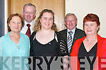 PIONEERS: At the Annual Pioneers Social at Ballyroe Heights Hotel, Tralee, on Saturday night. Front l-r: Mary Martin, Catherine Ryan and Aine Ryan. Back l-r: Michael Quinlan and John Murphy..